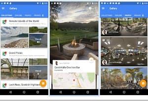 Google Street View Aplicaciones fotos 360 grados