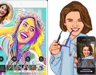 aplicaciones para convertir fotos en caricaturas