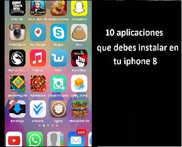 10 aplicaciones que debes instalar en tu iphone 8
