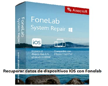 Recuperar datos de dispositivos ios con fonelab