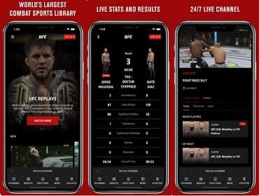 Ver UFC online-paginas y aplicaciones