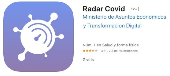 radar covid app de rastreo covid-19