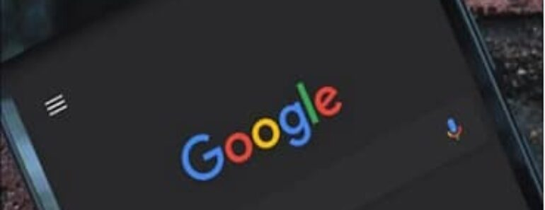 Como activar el tema oscuro en las apps de Google